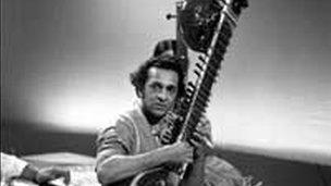Ravi Shankar in 1967
