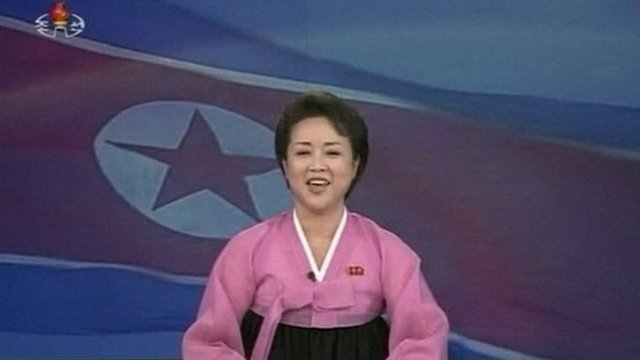 Korean news reader