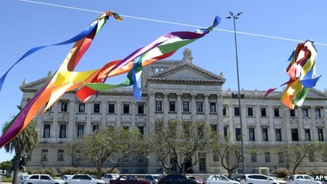 Uruguay gay marriage vote postponed until April