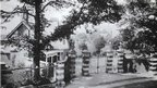 Front gates of hospital circa 1914