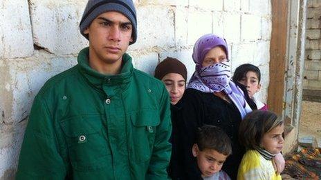 Syrian refugees in Arsal, Lebanon