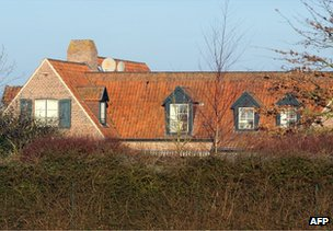 A house in Nechin, Belgium, said to have been bought by Gerard Depardieu