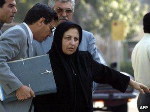 Abdolfattah Soltani and Shirin Ebadi