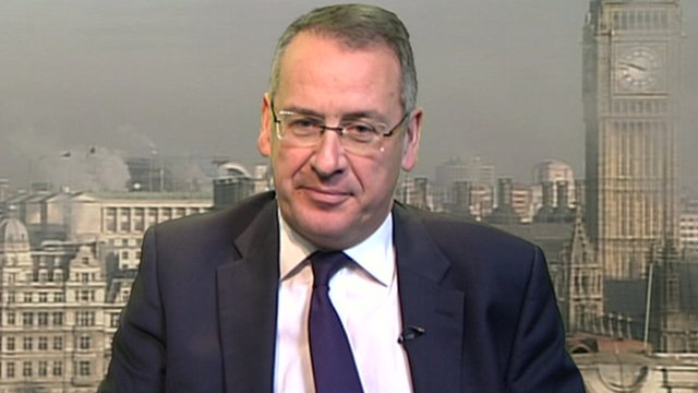Work and Pensions Minister Mark Hoban