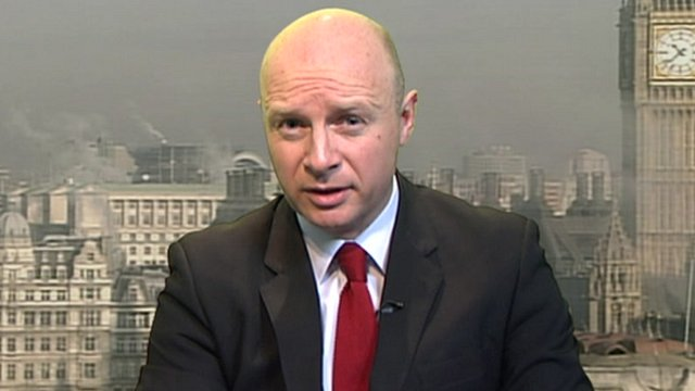 Shadow work and pensions secretary Liam Byrne
