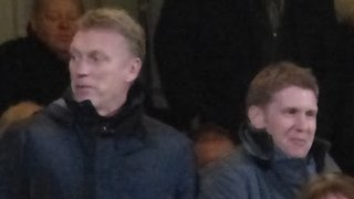 David Moyes and Steve Round