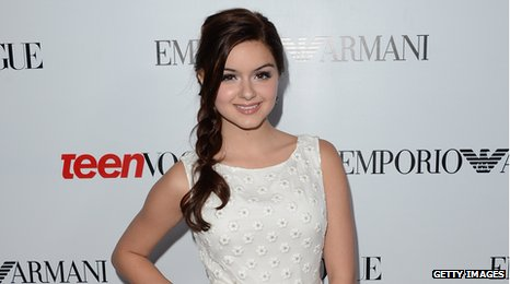 Ariel Winter plays middle child Alex Dunphy in hit US sitcom Modern Family