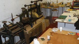 Book binding equipment and materials