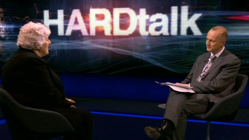 Jan Cheek, Falkland Islands Executive Councillor with Shaun Ley on HARDtalk