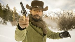 Jamie Foxx in Django Unchained