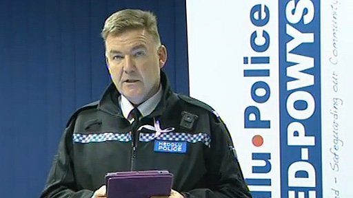 Supt Ian John from Dyfed-Powys Police
