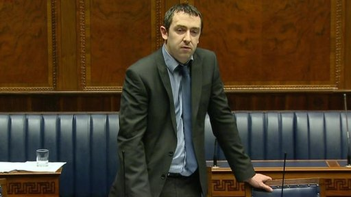 Sinn Fein's Daithi McKay