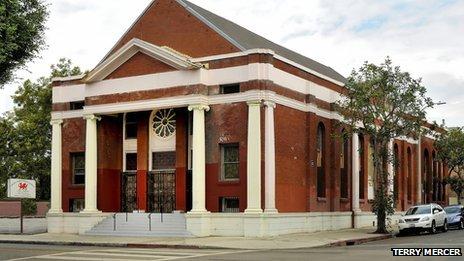 LA's Welsh Presbyterian Church, courtesy Terry Mercer