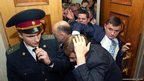 Parliament members scuffle in Ukraine