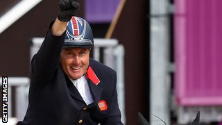 Peter Charles wins gold for Great Britain at London 2012
