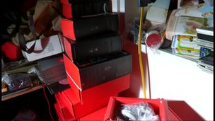 Counterfeit goods seized by Police and Trading Standards officers