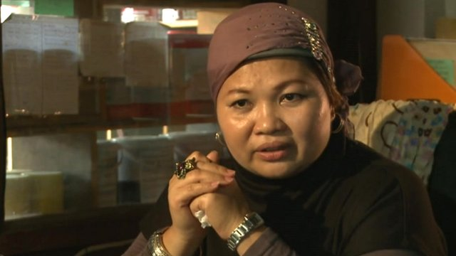Bai Sandra Basar-Siang owns two shops in Cotabato City, and employs more than 20 people.