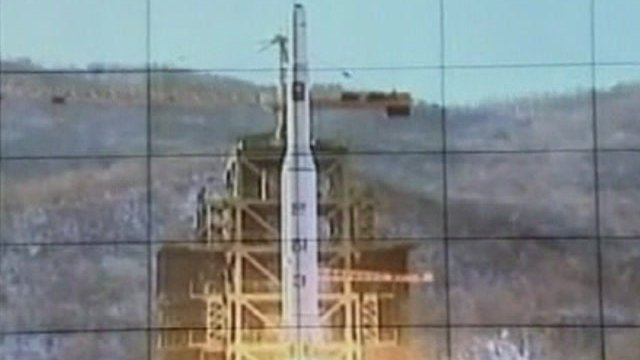 The moment of launch according to pictures released by North Korea