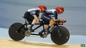 "Great Britain""s Helen Scott and Aileen McGlynn"