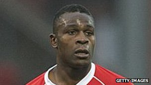 Patrick Ada in Crewe Alexandra kit