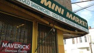 Philadelphia corner shop