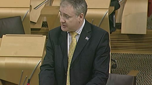 Rural Affairs and Environment Secretary Richard Lochhead MSP