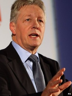 Peter Robinson is Northern Ireland's first minister