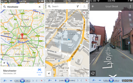 Google Maps app returns to iPhone