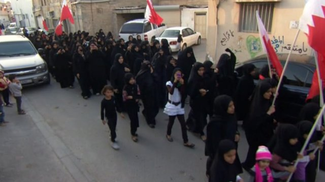 Protest in Bahrain