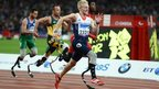 Men&#039;s 100m race at 2012 Paralympics