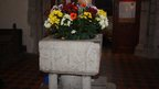 The font at Cooling church