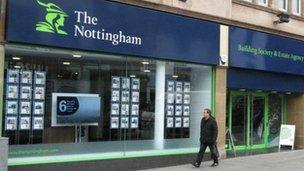 Nottingham Building Society Shepshed Branch