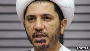 Sheikh Ali Salman (7 November 2012)