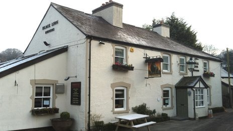 Black Lion, Llanfair Talhaiarn