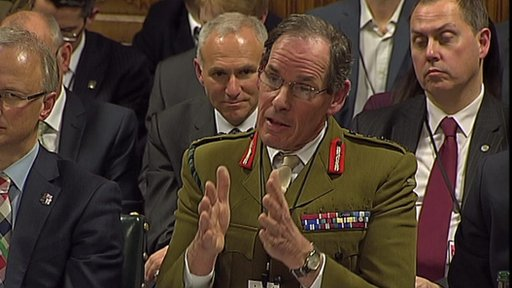 General Sir Nick Parker, Commander Land Forces