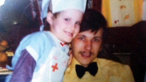 Robert (Bob) Johnson with his daughter Gina