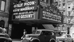 Jewish cinema, Manhattan c.1940s