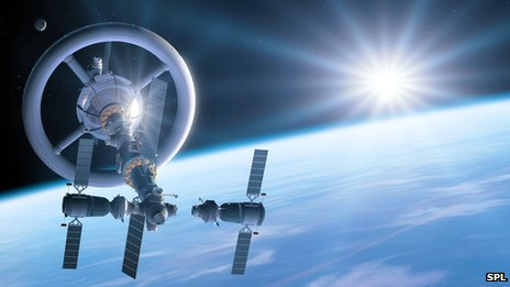 A space hotel of the future?