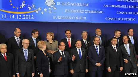 European leaders pose for the family photo at the opening of their Brussels summit