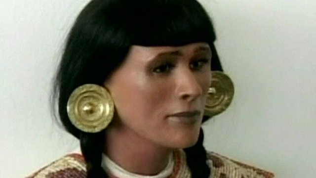 Reconstruction of the face of an ancient Peruvian priestess