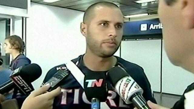 Tigre goalkeeper