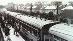 Rhiwbina station at the garden village