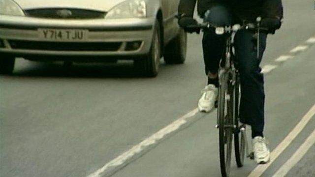 Cyclist in Oxford