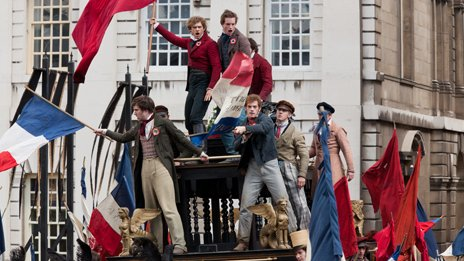 Scene from Les Mis