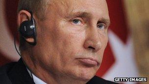Russian President Vladimir Putin (3 December 2012)