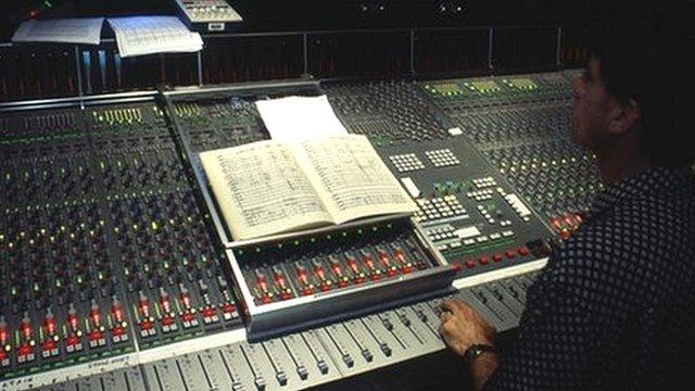 Mixing desk generic