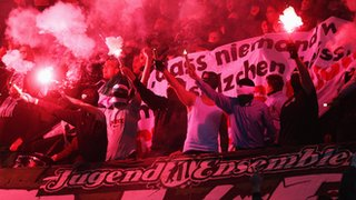 Crowd trouble at German league game