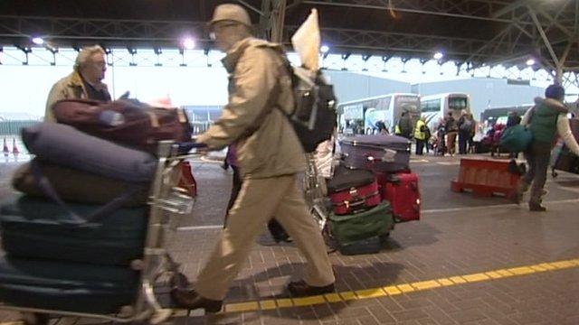 Oriana passengers