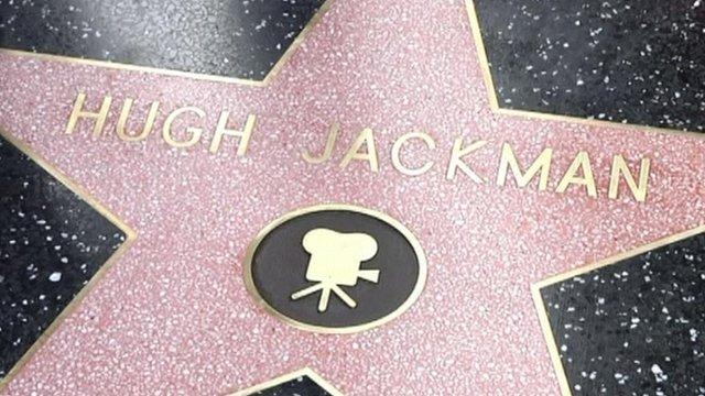 Hugh Jackman's star