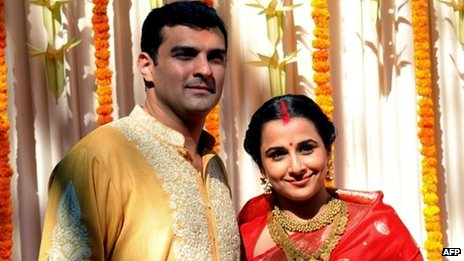Vidya Balan with Siddharth Roy Kapur